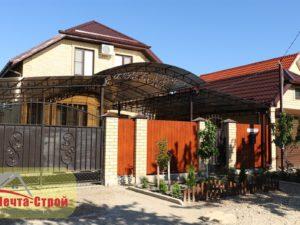 Дом в Гостагаевской с обустройством