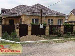 Построенный дом в Гостагаевской